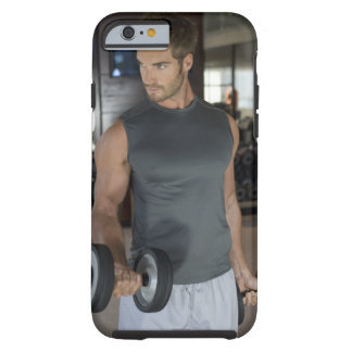 Exercising, Gym, Sport, Man, Body care, Day, Tough iPhone 6 Case