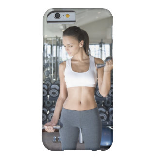 Exercising, Gym, Sport, Woman, Body care, Day, Barely There iPhone 6 Case