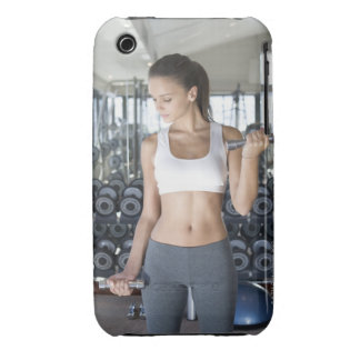 Exercising, Gym, Sport, Woman, Body care, Day, iPhone 3 Covers