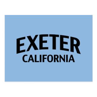 Exeter California Postcard