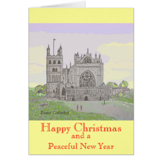 Exeter Cathedral Christmas Card
