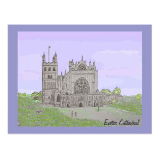 Exeter Cathedral Postcard