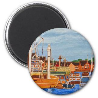 Exeter Devon England 6 Cm Round Magnet