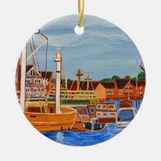 Exeter Devon England Christmas Ornament