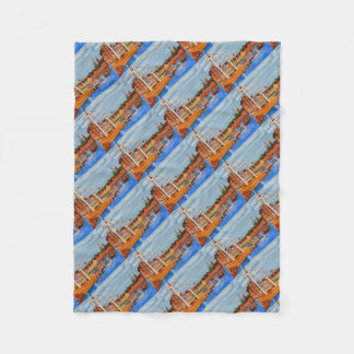 Exeter Devon England Fleece Blanket