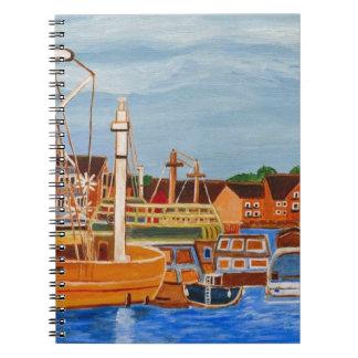 Exeter Devon England Notebook