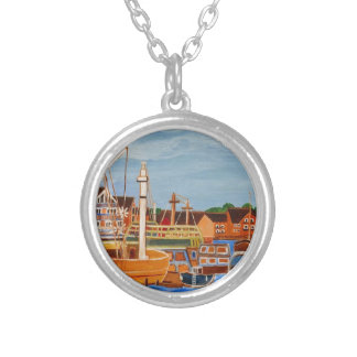 Exeter Devon England Silver Plated Necklace