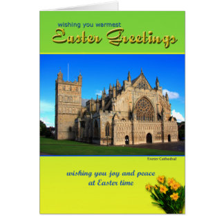Exeter Easter Greetings Card