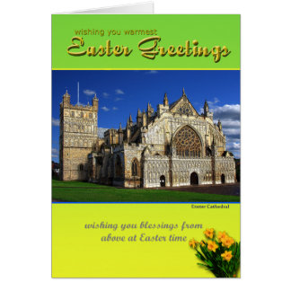 Exeter Easter Greetings Cards