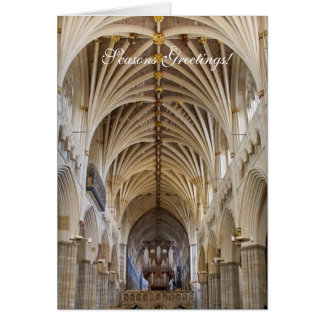 Exeter organ Christmas card