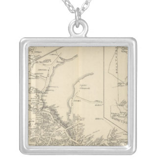 Exeter PO, town of Exeter Silver Plated Necklace