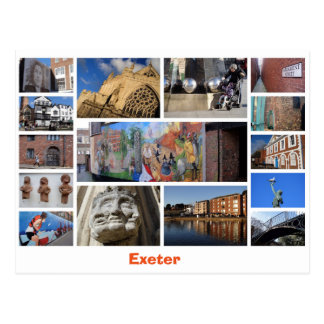 Exeter postcard