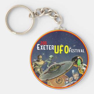 Exeter UFO Festival Key Ring