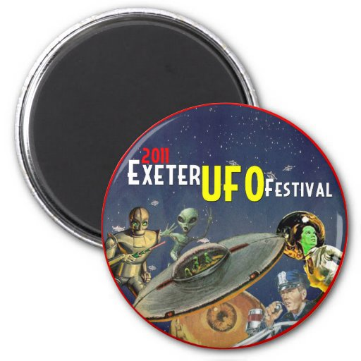 Exeter UFO Festival Magnets