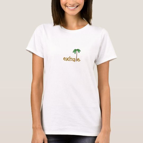 Exhale Palm Tree T-Shirt