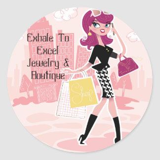 Exhale To Excel Jewelry Sticker
