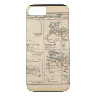 Exhausteds World Map 18 iPhone 7 Case