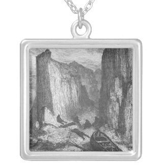 Exhaustion Silver Plated Necklace