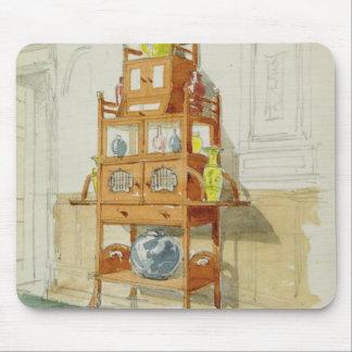 Exhibition Cabinet, c.1860s-70s (w/c & pencil on p Mouse Pad