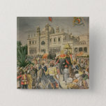 Exhibition of 1900: the Anglo-Indian Pavilion 15 Cm Square Badge