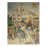 Exhibition of 1900: the Anglo-Indian Pavilion Postcard