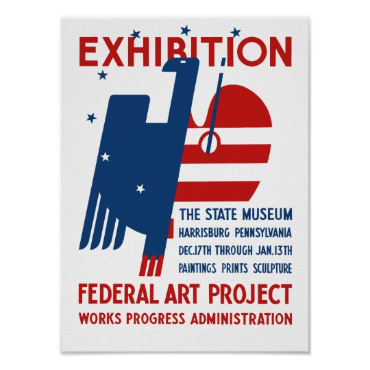Exhibition -- The State Museum Harrisburg PA Poster