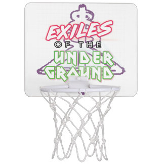 Exiles of the Underground Basketball Hoop (White)