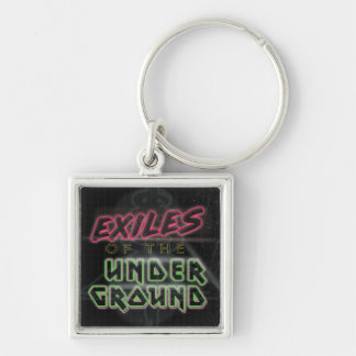 Exiles of the Underground Black Keychain