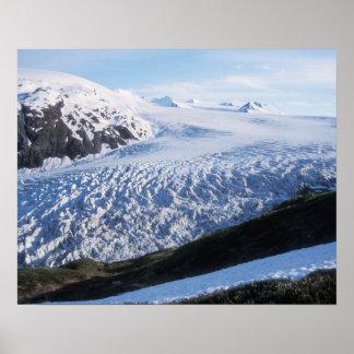 Exit Glacier in Kenai Fjords National Park, Poster
