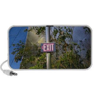 Exit Sign Mp3 Speaker