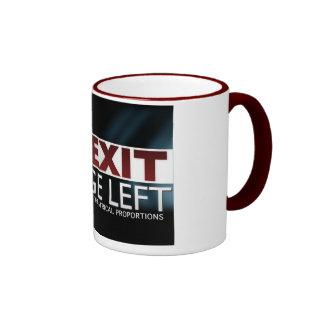 EXIT Stage Left Mug