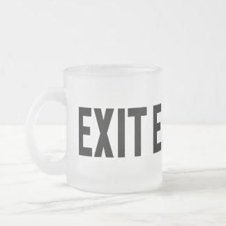 Exit, Way Out Mug