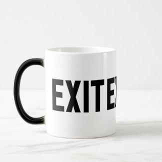 Exit, Way Out Coffee Mug