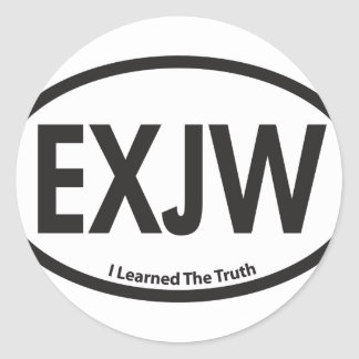 ExJW03.png Round Sticker