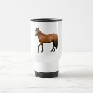 Exmoor Brown Horse Travel Mug