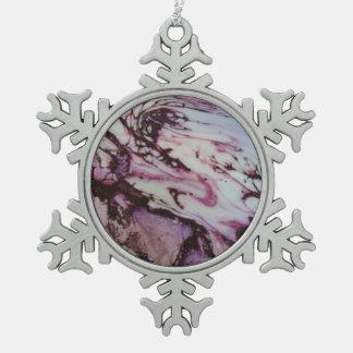 Exo-Birth Series Pewter Snowflake Decoration