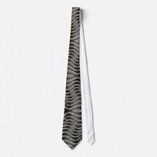 EXO-Skeleton 3D Optical Illusion Tie