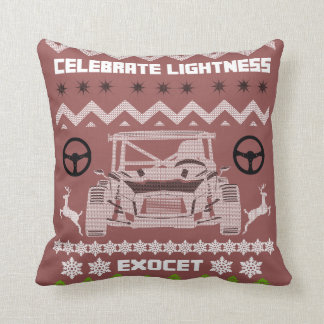 Exocet 2015 Celebrate Lightness Throw Pillow