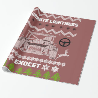 Exocet Celebrate Lightness Wrapping Paper