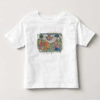 Exodus 16 13-22 God provides quail and manna to th Toddler T-Shirt