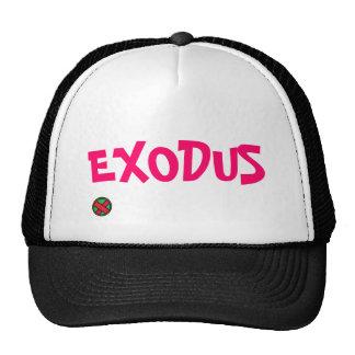 Exodus logo, EXODUS Hats