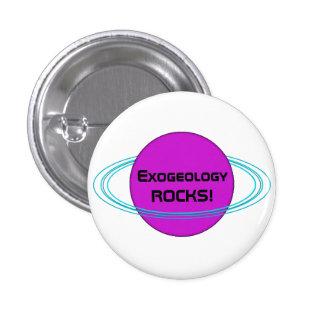 ExogeologyROCKS! 3 Cm Round Badge