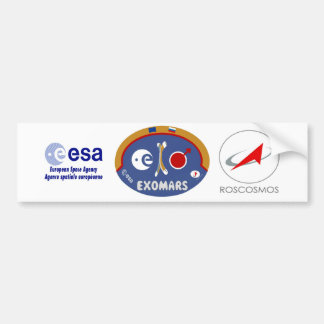 EXOMARS – The Search For Life Bumper Sticker