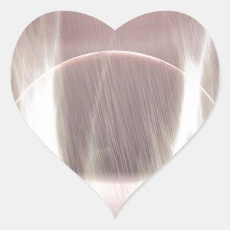 Exoplanet-864 Heart Sticker