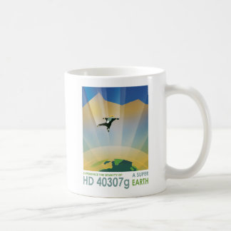 Exoplanet HD 40307g Space Tourism Coffee Mug