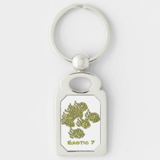 Exotic 7 keychain