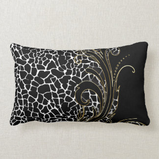 Exotic Animal Pattern   Changeable Color Lumbar Pillow