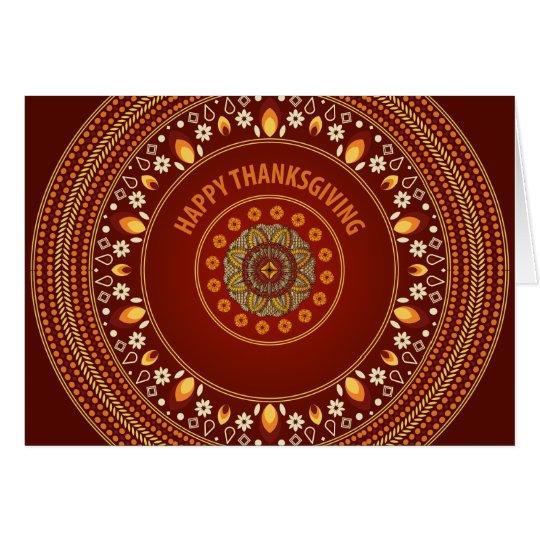 Exotic Autumn Card
