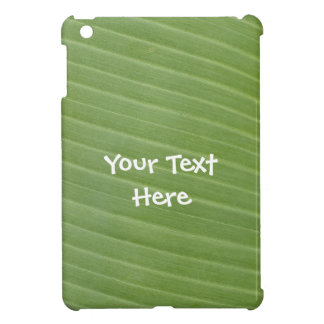 Exotic Banana leaf texture Cover For The iPad Mini