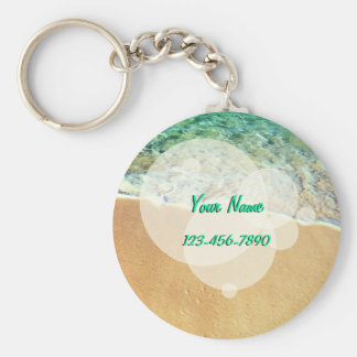 Exotic Beach Key Ring